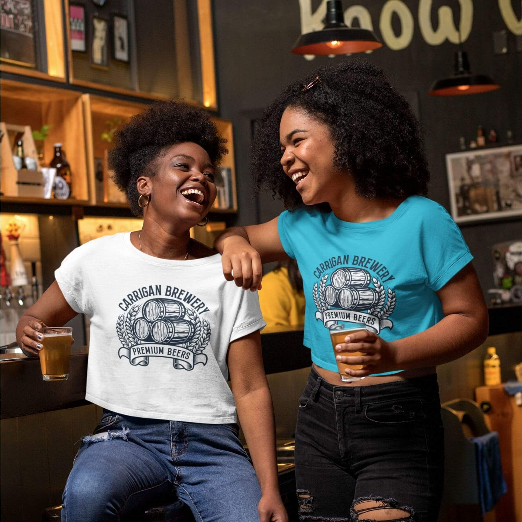 Carrigan Brewery Bright T-shirt Merch Designed by Finnix Solutions