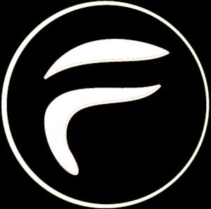 Finnix Solutions Logo - Transparent White