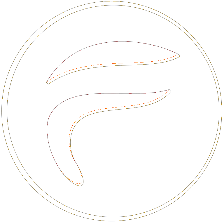 Finnix Solutions - White Transparent Logo